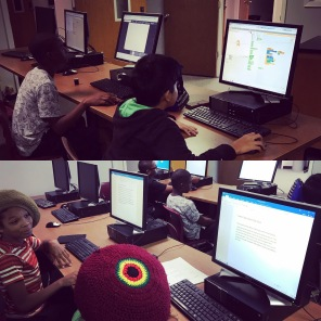 Collaboration is an important element to our camp. Coders need to be able to work on teams!